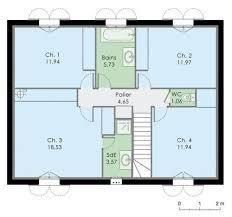 plan de maison a etage 5 chambres les 8 meilleures images du tableau plan maison rectangle 20 août sur