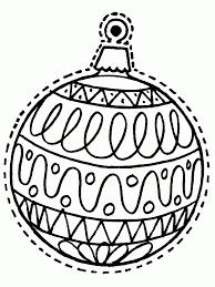 ornaments coloring pages coloringsuite
