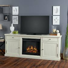 tv stand 37 w corner convertible media electric fireplace in