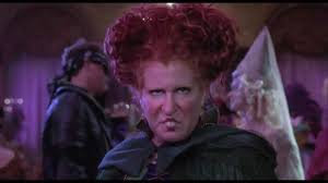 free halloween red hair witch images on white background i put a spell on you bette midler hocus pocus 1993 hd edited