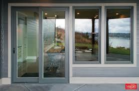 Milgard Patio Door Backyard Patio Entrance Sliding Patio Doors And Matching Windows