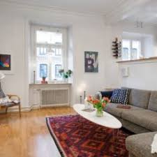 Small One Room Apartments Featuring A Scandinavian Décor - Swedish apartment design