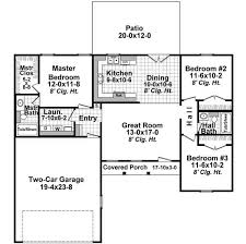 House Plans For 1200 Sq Ft Country Style House Plans Plan 2 302
