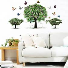 Green Home Decor Compare Prices On Green Tree Decal Online Shopping Buy Low Price