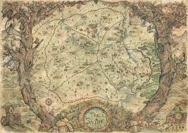 map hobbit the hobbit the shire map an print by baerald inprnt