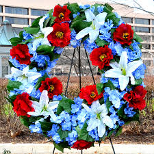 commemorative wreaths