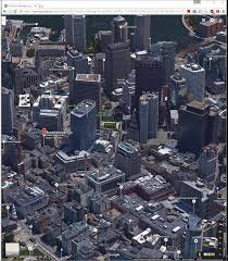Boston Google Maps by A View Of Boston The Oldest Surviving Aerial Photograph Ever