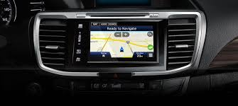 honda accord with navigation 2017 honda accord technology features at lundgren honda of auburn