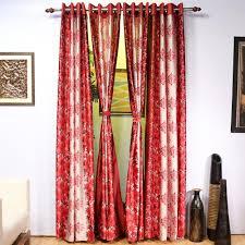 cortina 4 long door curtains with 1 bedsheet set u0026 4 cushion