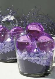 Water Bead Centerpieces by Floral Gel Crystal Soil Water Beads For Lighting Centerpiece Buy