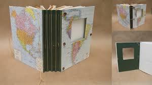 expandable scrapbook free range bookbinding travel journals