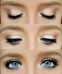 how to make your eyes look bigger and attractive with makeup