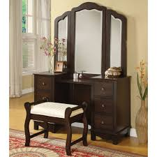 Lighted Vanity Table With Mirror And Bench Tips Lighted Vanity Makeup Mirror Mirrored Makeup Vanity
