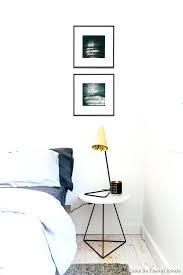 le de chevet chambre table chevet ronde table de chevet ronde with scandinave chambre
