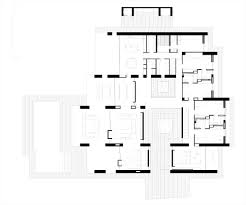 first floor plan contemporary home in monasterios spain