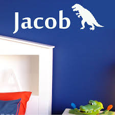 personalised boy name wall stickers by wall art quotes designs personalised boy name wall stickers