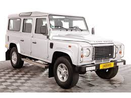 used land rover defender 110 for sale used land rover defender 110 station wagon s td4 for sale at