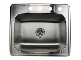 Large Single Bowl Kitchen Sink by Nantucket Stainless Steel Drop In Kitchen Sinks