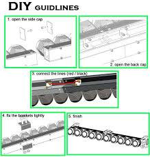 how to build led light bar ce rohs diy led light bar single row 24 spot flood combo modular
