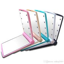 lighting and mirrors online light up mirror 8 led cosmetic make up mirror 8led mirrors compact