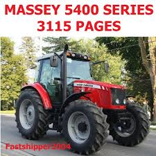 massey ferguson mf 5400 tractor shop service manual operators
