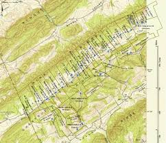 Topographical Map Of Tennessee by 1942 Kingston Demolition Range Maps Anderson County Tennessee