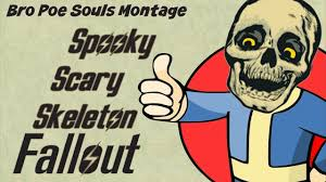 fallout new vegas halloween costume a spooky scary skeleton halloween fallout new vegas machinima