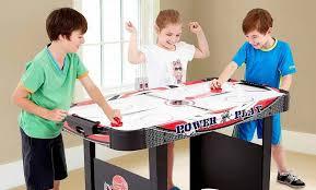 kids air hockey table top 5 best air hockey tables for kids 2017 reviews parentsneed