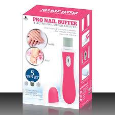 pro nail buffer pink grand innovations