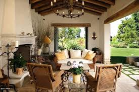 Hacienda Decorating Ideas Courtyard Decorating Ideas House With Style Patio Best On