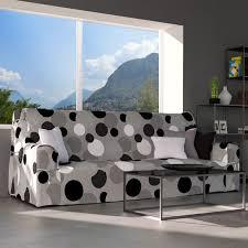 housse de canap noir housse de canapé pop gris et motif noir et blanc housse de canapé