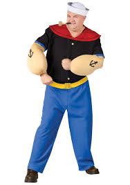 jetsons halloween costumes plus size popeye halloween costume large popeye the sailorman
