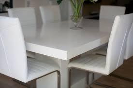 Corian Cirrus WhiteDining Table Custom Benchtops  Joinery - Corian kitchen table