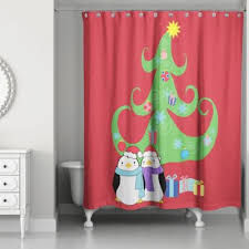 buy christmas shower curtain from bed bath u0026 beyond