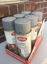 Krylon Textured Spray Paint - krylon make it stone spray paint 12 oz charcoal sand ebay