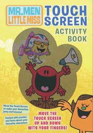 men show touch screen activity book reviews description