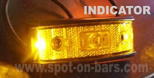 led side marker lights for trucks aspock pro multi sml led side marker light indicator and reflector