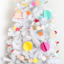 colorful 3d sewn paper ornaments paper ornaments christmas tree