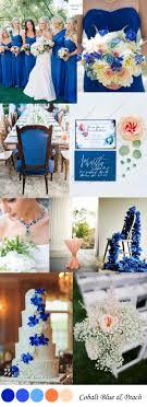 april wedding colors cobalt blue wedding color inspiration wedding colors