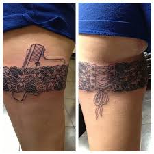 25 beautiful lace garter tattoos ideas on pinterest lace tattoo