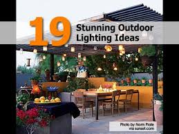 19 stunning outdoor lighting ideas