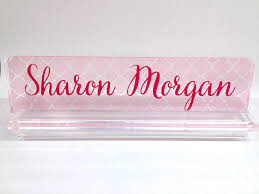 custom office desk signs office decor best gift sale personalize name plate name plaque desk