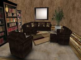 Sectional Living Room Sets Sale by Second Life Marketplace Special Sale Price Color Change Leather
