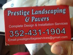 prestige landscaping u0026 pavers leesburg fl 34748 yp com
