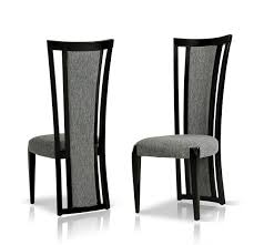 Black And White Dining Room Chairs by Libra Modern Fabric Dining Room Chair Fabric Dining Room Chairs
