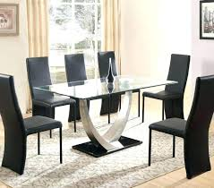 round table with 6 chairs glass table with 6 chairs blogdelfreelance com