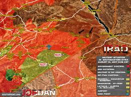 Where Is Syria On A Map by Military Situation In Southeastern Syria On August 10 2017 Map