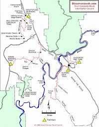 Great Loop Map Moab Mountain Biking Trails Moab Mountain Bike Trail Information