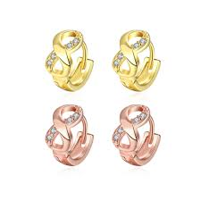 infinity number rose gold infinity earrings image collections jewelry design
