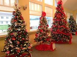 2016 team festival of trees and wesley village craft fair